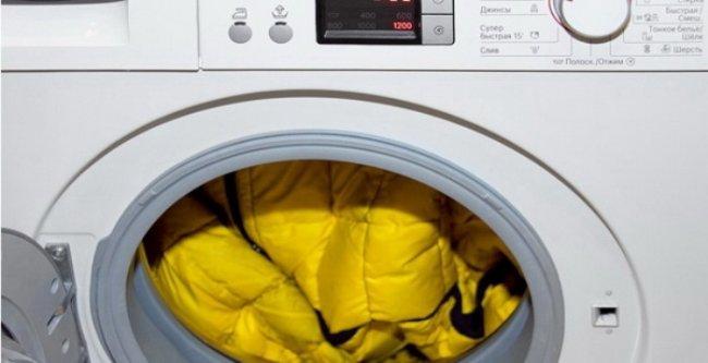 Як прати речі утеплені синтепоном